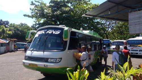 Bus from Manado to Bitung