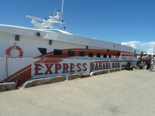 Express boat to Waigeo from Sorong