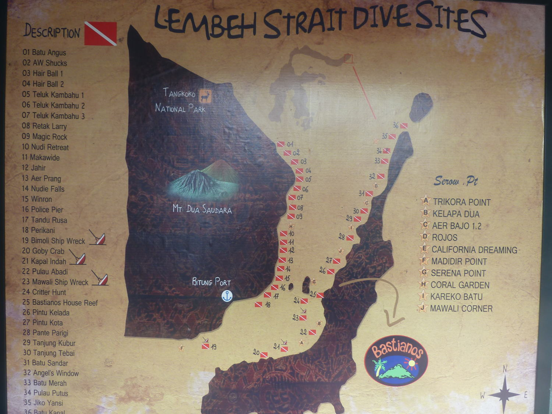 Lembeh dive sites