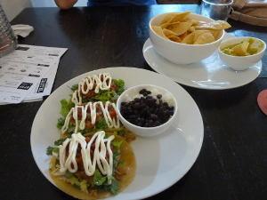 Tacos at Coccina Cartel
