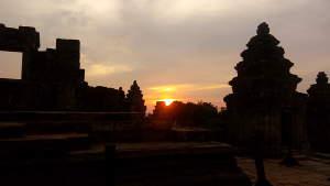 Sunset from Phnom Bakheng